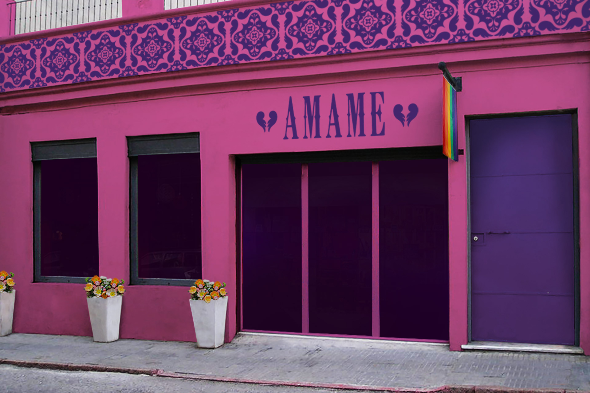 Concept for Amame exterior